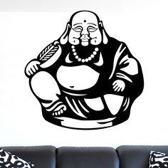Nice Sitting Buddha Wall Sticker