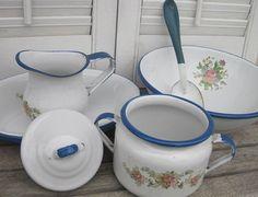 Vintage Enamelware Bowl Set 6-PC                                                                                                                                                      More