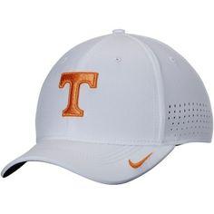 9f2713c503e47 Men s Nike White Tennessee Volunteers Sideline Vapor Coaches Performance  Flex Hat
