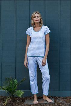 Lake Pajamas Short Long Set
