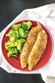 Parmesan Crusted Tilapia! An Pinterest classic confirmed - flaky tilapia with a delicate parmesan coating. | HomemadeHooplah.com