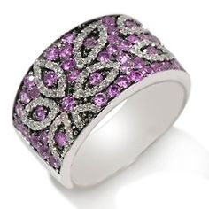 purple sapphire diamond ring  I like the purple sapphire, but not necessarily the style of the ring.