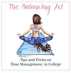The Sweet and Chic Prep: The Balancing Act