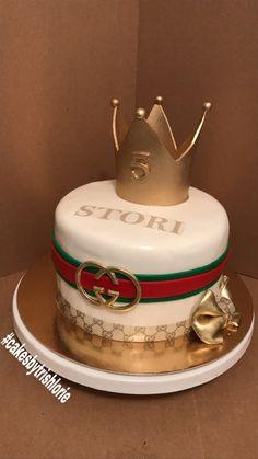 Gucci Theme Birthday Cake All Edible