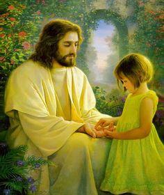 Jesus Christ by Greg Olsen Images Du Christ, Pictures Of Christ, Greg Olsen Art, Image Jesus, Jesus Photo, Jesus E Maria, Lds Art, Jesus Christus, A Course In Miracles