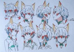 Sinon's in-game character model for Sword Art Online: Lost Song Shino's character designs for...