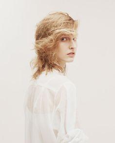 Julia Fuchs by Ivan Ruberto for Oyster Magazine