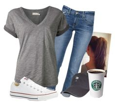 """The busy life"" by felicia-alexandra ❤ liked on Polyvore featuring Ström, Nation LTD and Converse"