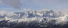 Panoramica dal Monte Bondone verso le Dolomiti di Brenta