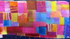 Linda Stokes Textile Artist: Dispersal dyes