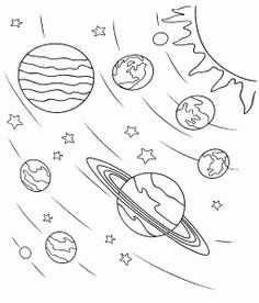 pictures of each planet in the solar system   Coloring Pages Images ...