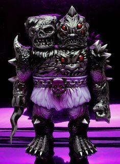 "SpankyStokes.com | Vinyl Toys, Art, Culture, & Everything Inbetween: Mutant Vinyl Hardcore × Skinner's ""Dokuro King Kra..."