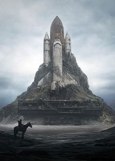 Post Apocalypse Space Shuttle                                                                                                                                                      Mais