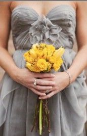 Love the grey for bridesmaids dresses. what if we did gray instead of black?