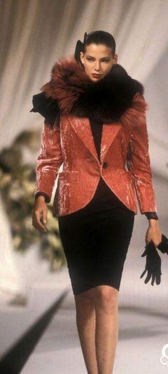 1989 Christian Dior, Autumn-Winter, Couture