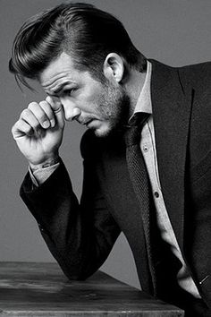 David Beckham, why is he so hot?