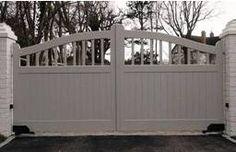 Hathersage Wooden Entrance Gates
