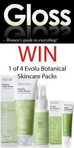 Win 1 of 4 #Evolu #Botanical #Skincare Packs! #competition