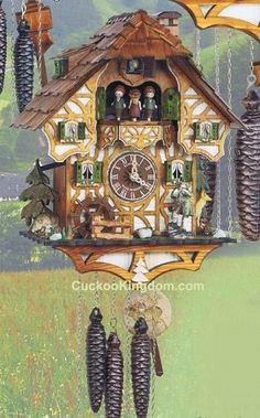 Cuckoo Kingdom, inc - Black Forest Cuckoo Clock | Moving Hunter | Closeout | MT 6417/9, (http://www.cuckookingdom.com/black-forest-cuckoo-clock-moving-hunter-closeout-mt-6417-9/)