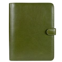Classic Giada Italian Leather Binder - Green #dreamplanner @FranklinPlanner