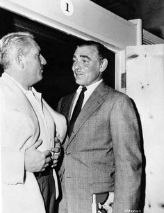 Clark Gable and Spencer Tracy