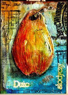 birne pear gruszka piore pera  ATC