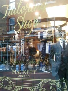 Hackett Tailoring Shop