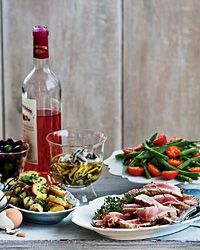 French Recipes via Food & Wine Magazine--(Above Image: French Riviera Party Recipes..& more within Food & Wine.com...)