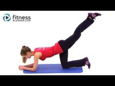 OMG, this workout is awesome. I've been looking for a good video for my bum. This one is only 8 exercises, 16 reps each. Perfect for Leg day at the gym :)