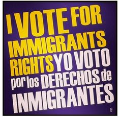 Repin if you're for immigrant rights!