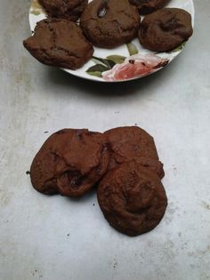 Chocolate Honey Cookies