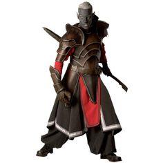 Armor Venue  Dark Elven Leather Armour Package  Dark Brown  Large