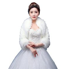 SIPEI Womens plush Imitation cony mink Faux Fur Outerwear Coats wedding party bridal winter (B-15)