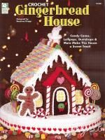 gingerbread man in plastic canvas   Gingerbread House Holiday Crochet Pattern   eBay