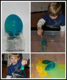 After doing our Egg-citing exploration experiment  the other day and Jake being all into it, I decided to do a couple other experiments wit...