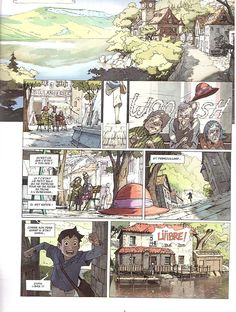 Comics Story, Bd Comics, Manga Comics, Comics Toons, Comic Layout, Graphic Novel Art, Classic Paintings, Short Comics, Comic Panels