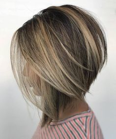 See here the incredible trends of bob hairstyles and haircuts for 2018 ladies who are searching for latest styles of bob haircuts they are advised to visit this page for best styles of bob hair looks to show off in 2018 hairstylesandhaircuts Bob Hairstyles 2018, Short Bob Haircuts, Straight Hairstyles, Angled Bob Hairstyles, Haircuts For Thin Hair, Easy Hairstyles, Graduated Bob Haircuts, Inverted Bob Haircuts, Trending Hairstyles