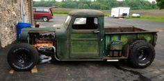 Pickup Willys Rat Rod