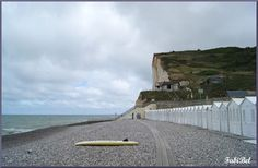 Normandie les petites dalles la plage