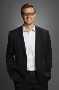 Chris Hayes hosts All In with Chris Hayes at 8 p.m. EST Monday through Friday on MSNBC. Hayes is also editor-at-large of The Nation. Previously, Hayes hosted the weekend program Up with Chris Hayes, which premiered in 2011. Prior to joining MSNBC as an anchor, he served as a frequent substitute host for The Rachel Maddow Show and The Last Word with Lawrence O'Donnell.