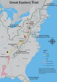 The Smoky Mountain Hiking Blog: Chattanooga To Be Named First Official Trail Town Of The Great Eastern Trail