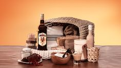 The Lapa Retreat Hamper - Give someone special the gift of me-time with our Lapa Retreat Hamper, complete with all things needed to unwind – a bottle of Amarula Cream, luxurious products and plush bath towels. Visit http://www.amarula.com/gifts#/gifts for the complete list of gift elements.