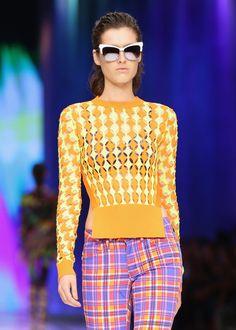 El glamour de Milan Fashion Week SS2014 Pasarela de Just Cavalli SS2014
