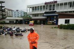 DDPM warns of heavy rains and flash flooding for the next five days. Photo: Patong Police