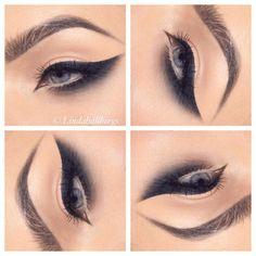"""Got wings?  #eotd #makeup"""