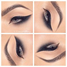 """Got wings?  #eotd #makeup"""