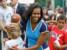 Photos: Michelle Obama at 2012 London Summer Olympics