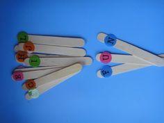 Letter Sticks, learn phonics, learn spelling learn letters, preschool activities, bilingual homeschool
