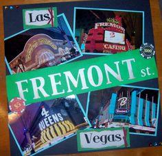 """Fremont Street"" Las Vegas - Scrapbook.com"