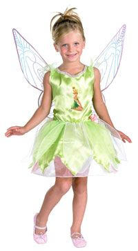 Quality Girls Disney Tinker Bell Costume - Tinkerbell Costumes#disney # disney halloween costumes